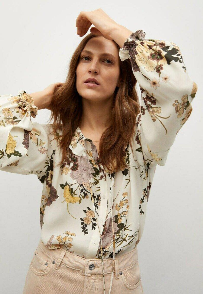 Mango - Button-down blouse - multi-coloured