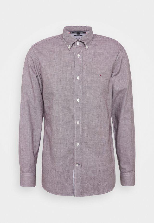 MELANGE DOBBY - Skjorte - purple