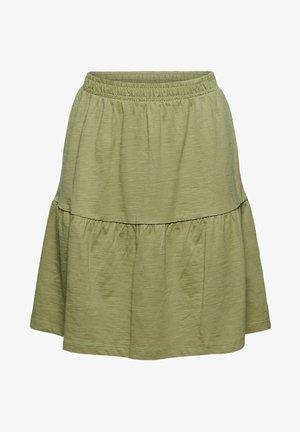 A-line skirt - light khaki