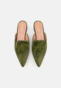 Alberta Ferretti - MULE - Mules - green - 4