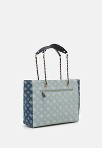 Guess - CESSILY TOTE - Handbag - denim multi - 1
