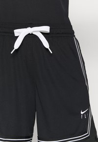 Nike Performance - FLY CROSSOVER SHORT - Sports shorts - black/white - 5