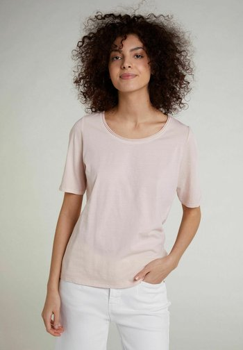 Basic T-shirt - peach whip