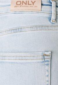 ONLY - ONLBLUSH LIFE - Skinny džíny - light blue denim - 5