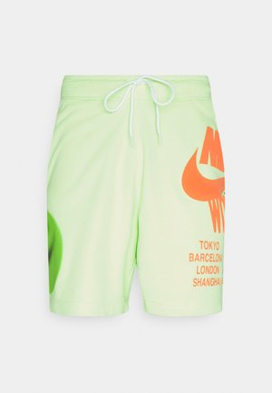 Pantalones deportivos - light liquid lime
