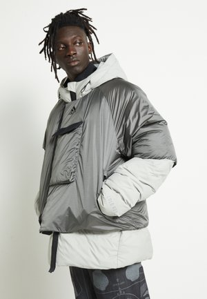 URBAN COLD.RDY OUTDOOR JACKET - Bunda z prachového peří - metallic grey