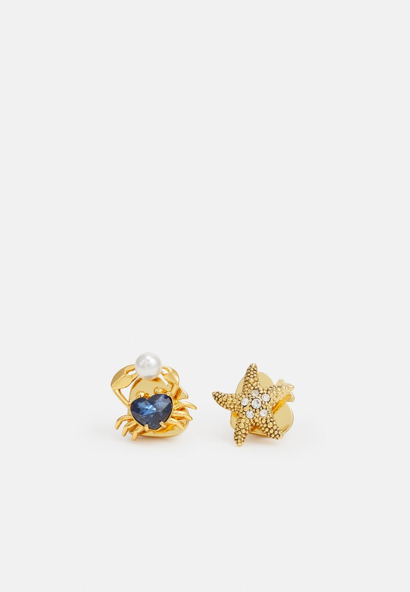 kate spade new york - STARFISH AND CRAB STUDS - Earrings - blue multi