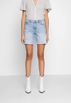Szorty jeansowe - blue bleached