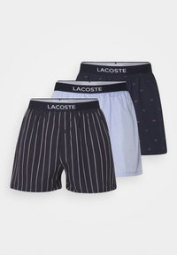 Lacoste - 3 Pack - Boxer shorts - marine/alizarine-tropical-blanc - 5