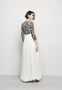 Needle & Thread - SEQUIN RIBBON LONG SLEEVE BODICE DRESS - Suknia balowa - crystal blue - 2