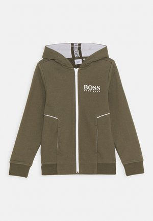 CARDIGAN - Zip-up hoodie - khaki