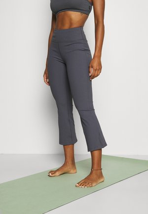 ACTIVE KICK FLARE - Tracksuit bottoms - pewter grey