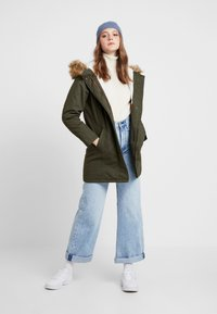 ONLY - ONLMANDY - Parka - forest night - 1