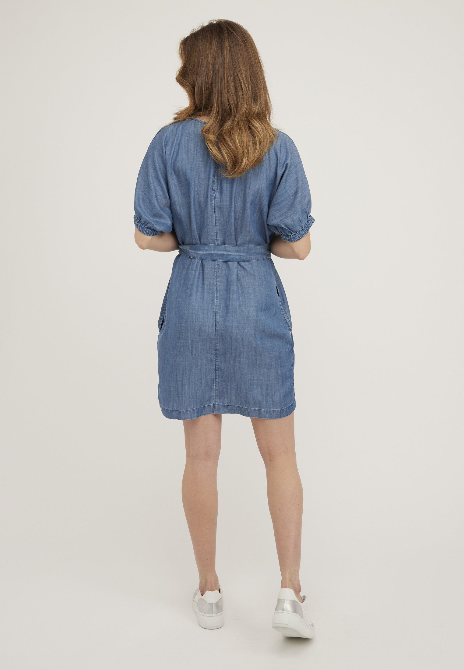 Oliver Bonas CHAMBRAY - Robe en jean - blue - Robes femme G9lo0