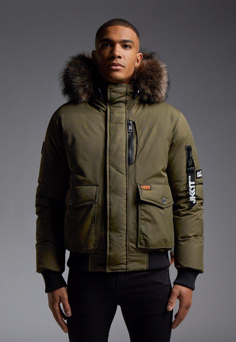 JACK1T - MOUNTAIN  - Gewatteerde jas - khaki