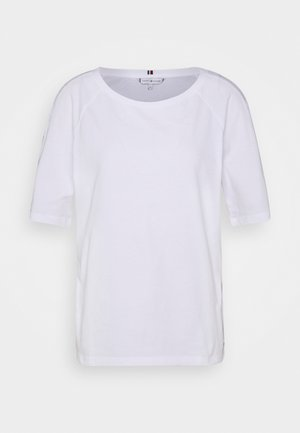 VERA OPEN - Basic T-shirt - white