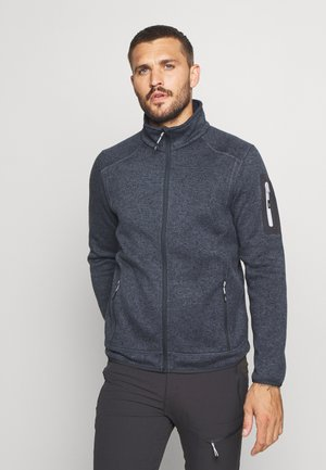 Fleece jacket - asphalt melanhe/ghiaccio