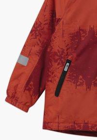 Reima - WINTER MAUNU UNISEX - Zimní bunda - lingonberry red - 4