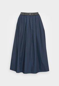 esmé studios - CALLA MIDI SKIRT - A-line skirt - dark sapphire - 3