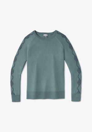 SHADOW PINE NEEDLEPOINT CREW - Sweater - blue spruce heather