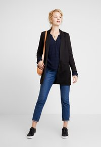 TOM TAILOR - BLOUSE SOLID  - Blůza - sky captain blue - 1