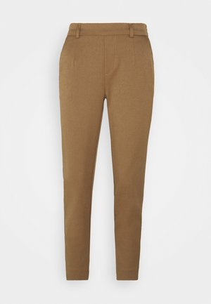 OBJLISA SLIM PANT - Pantalon classique - sepia