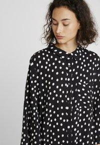 Kaffe - Shirt dress - black deep - 4