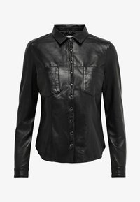 ONLY - Giacca di pelle - black - 4