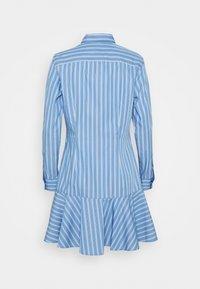 Lauren Ralph Lauren - DRESS - Shirt dress - blue/white - 6