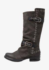 Coolway - GISELE - Cowboy/Biker boots - grey - 1
