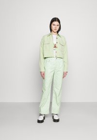 The Ragged Priest - PRISM - Straight leg jeans - lime/white - 1