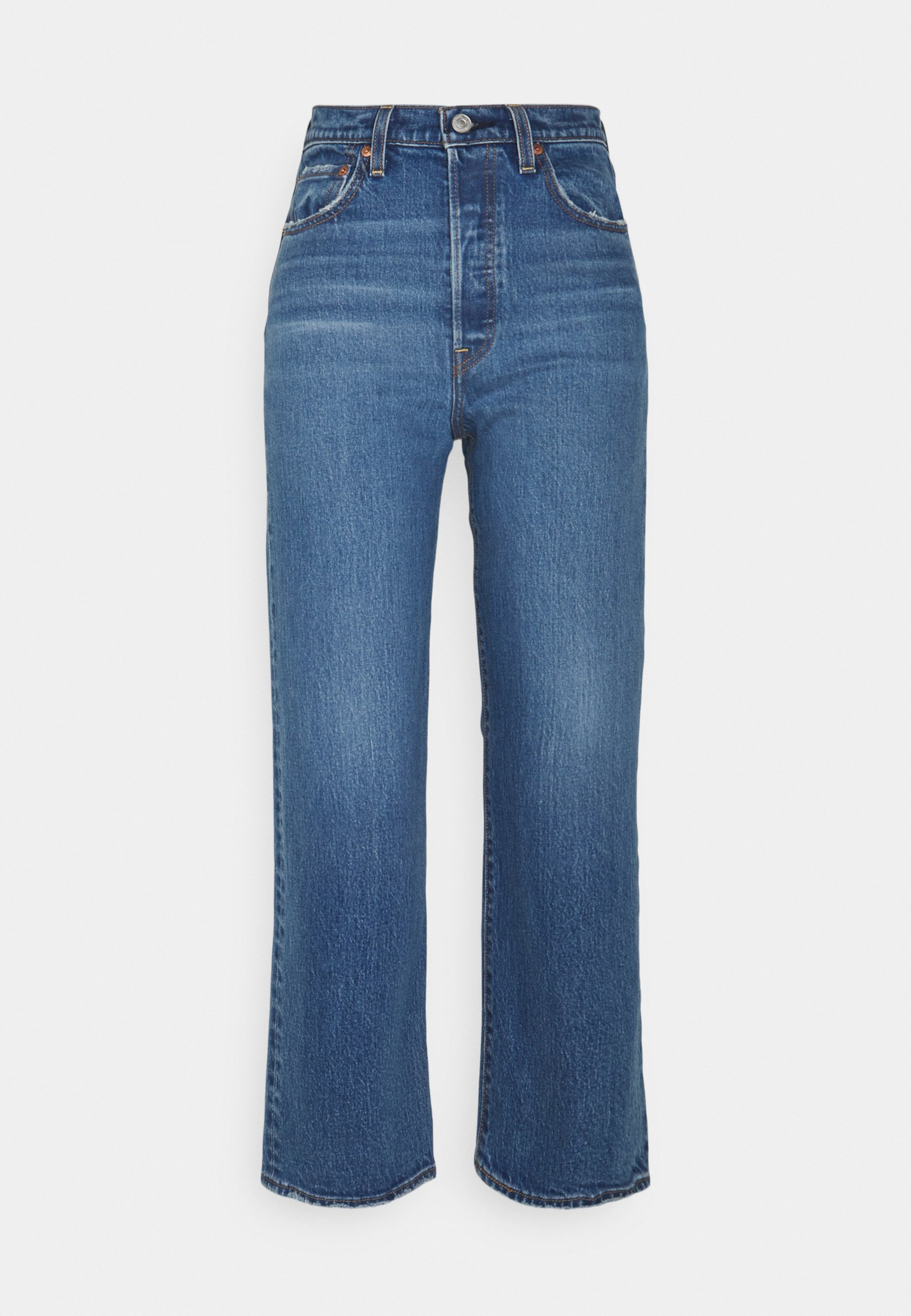Women RIBCAGE STRAIGHT ANKLE - Straight leg jeans