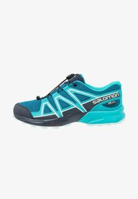 Salomon - SPEEDCROSS CSWP - Hiking shoes - lyons blue/bluebird/navy blazer