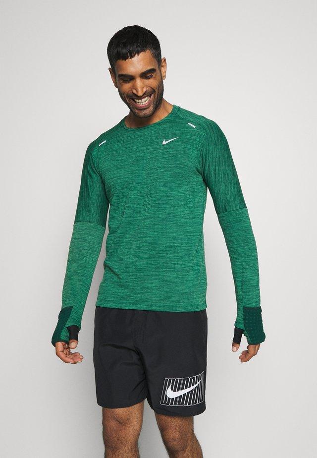 SPHERE ELEMENT CREW 3.0 - Bluza z polaru - pro green/lucky green