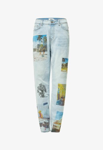 DESIGNED BY ESTEBAN CORTAZAR - Relaxed fit jeans - blue