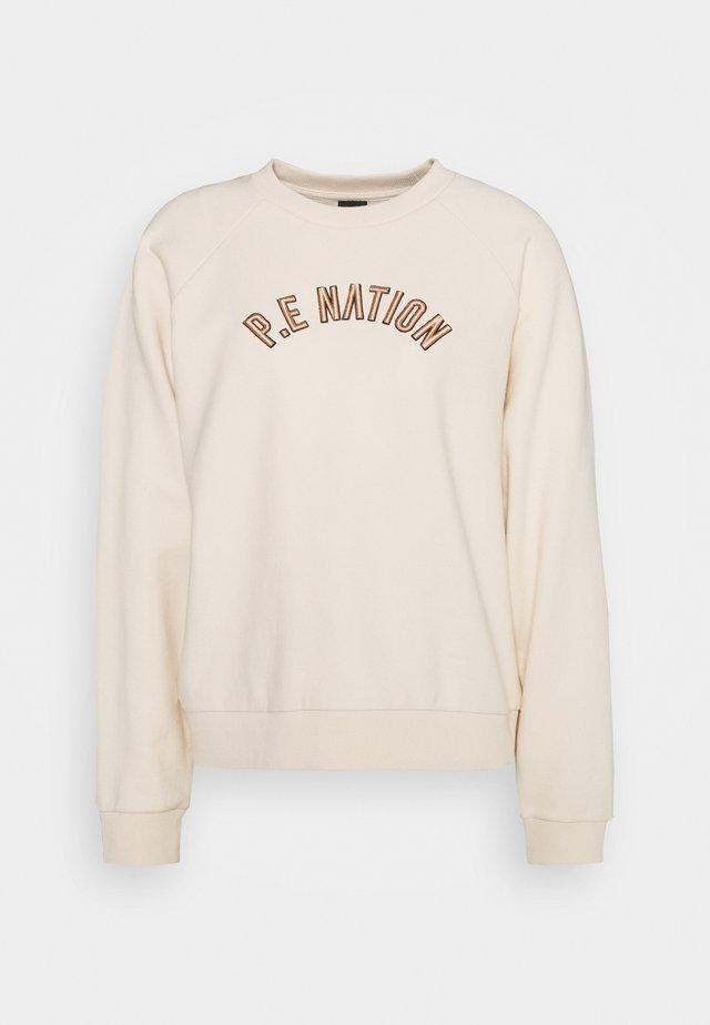 DROP SHOT - Sweatshirts - pearled ivory