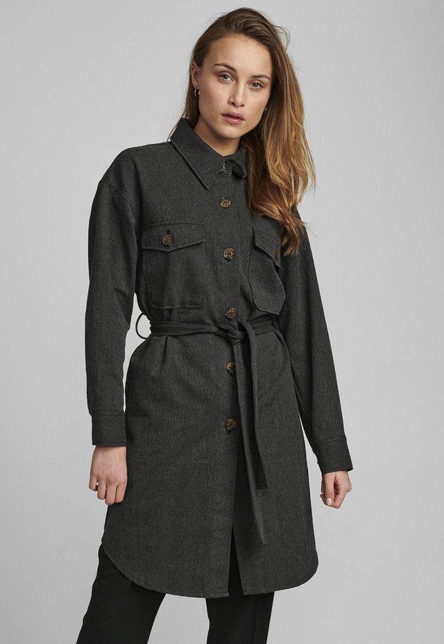 NUCALI JACKET - Shirt dress - dark sapphire