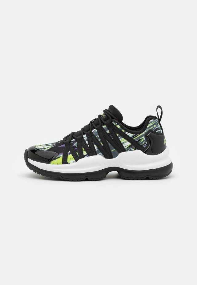 Baskets basses - lime/black
