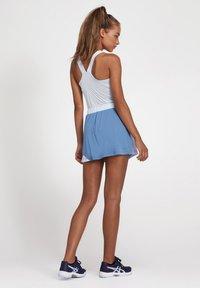 ASICS - A-snit nederdel/ A-formede nederdele - grey floss/soft sky - 2