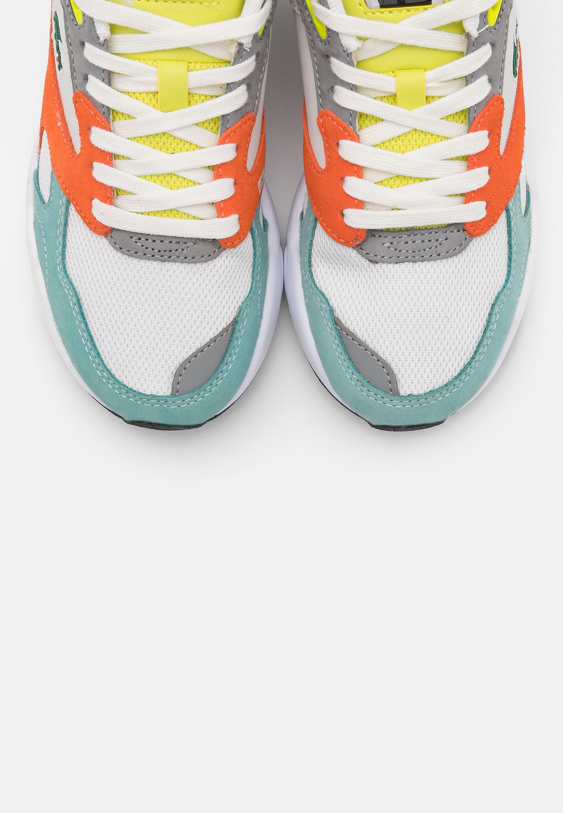 Lacoste Storm - Sneakers Orange/light Green