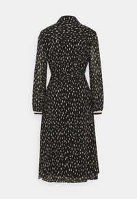 Esqualo - DRESS DOUBLE DOT - Day dress - black - 1