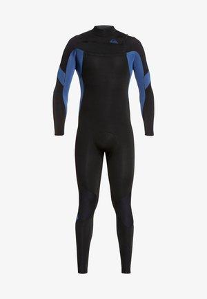 3/2MM SYNCRO  - Wetsuit - black black/iodine blue iodine