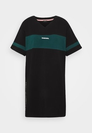 UFTEE-CHEERLY T-SHIRT - Nightie - black/green