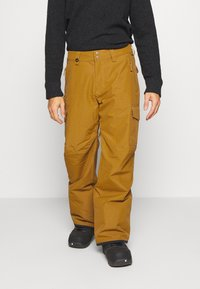 Quiksilver - PORTER - Snow pants - bronze brown - 0