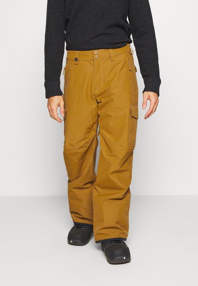 PORTER - Snow pants - bronze brown