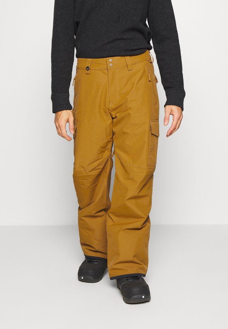 Quiksilver - PORTER - Snow pants - bronze brown