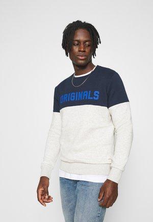 JORREXEN CREW NECK  - Sweatshirt - white melange