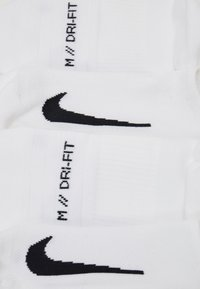 Nike Performance - 2 PACK UNISEX - Calzini - white/black - 2