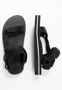 Slydes - NITRO - Sandals - black - 1