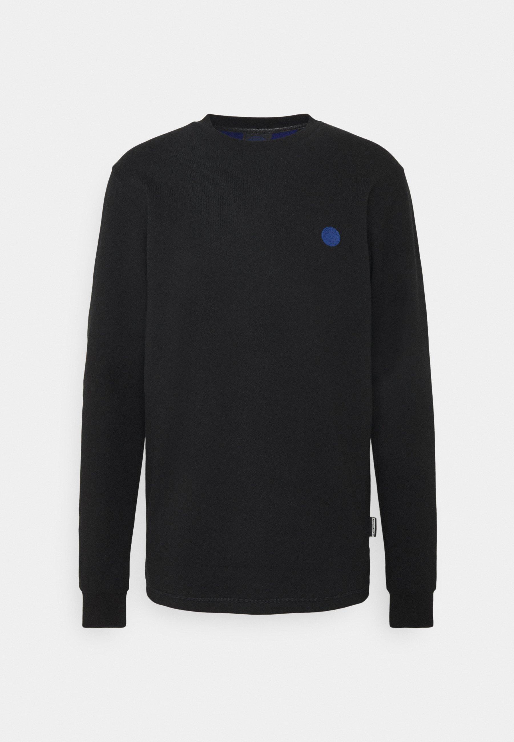 Homme CREW NECK WITH TONAL CHEST ARTWORK - Sweatshirt